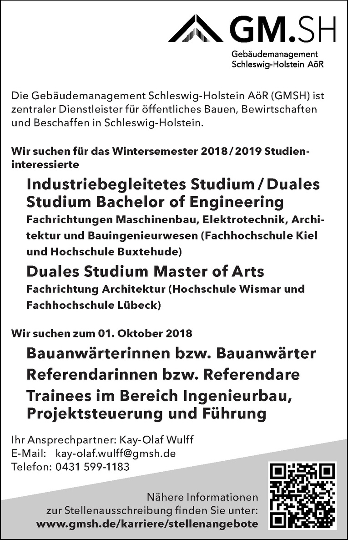 Industriebegleitetes Studium / Duales Studium Bachelor of Engineering Maschinenbau