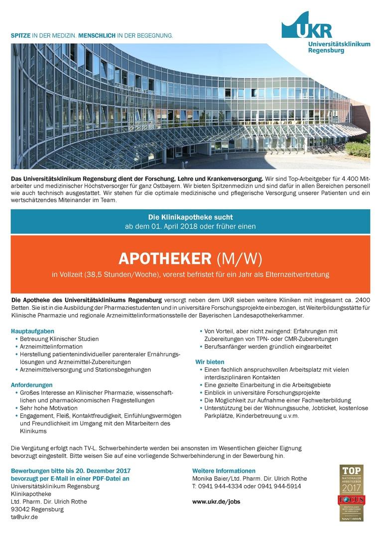 Apotheker (m/w)