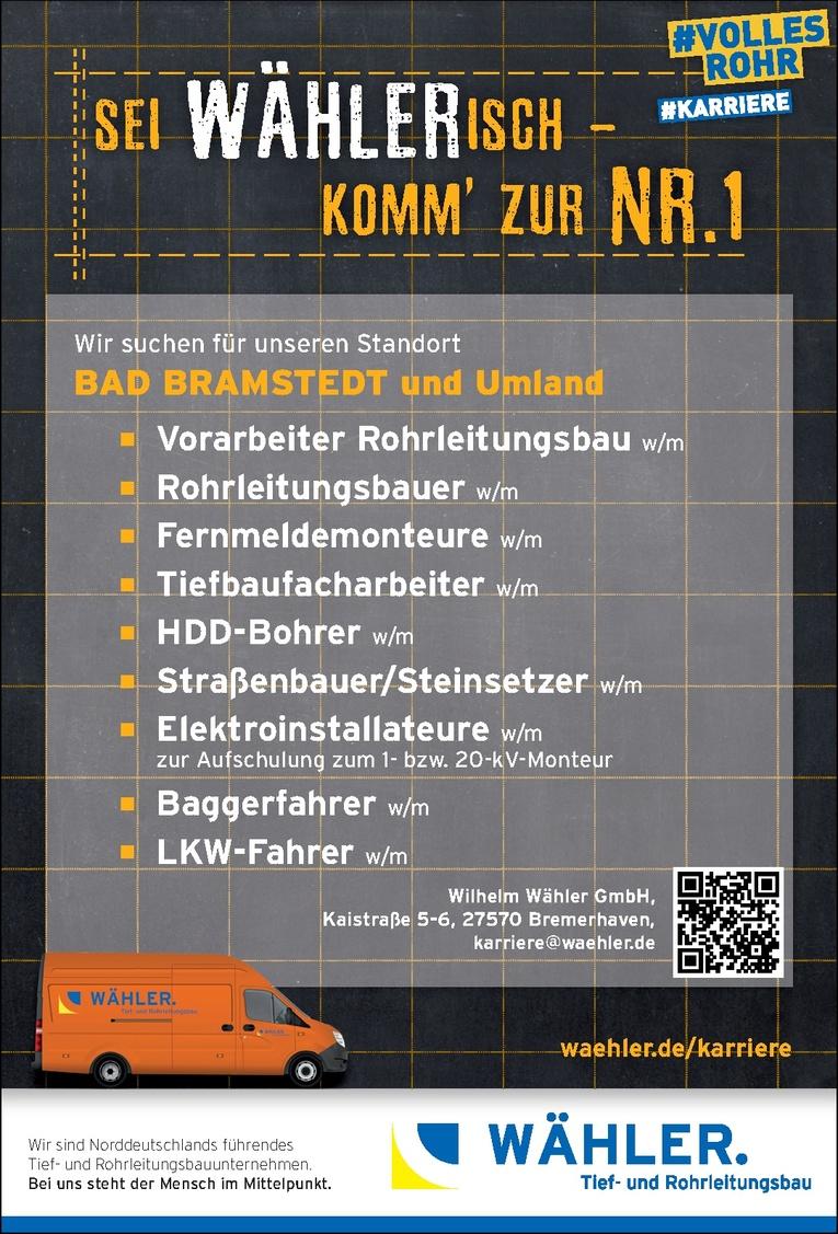 Rohrleitungsbauer w/m