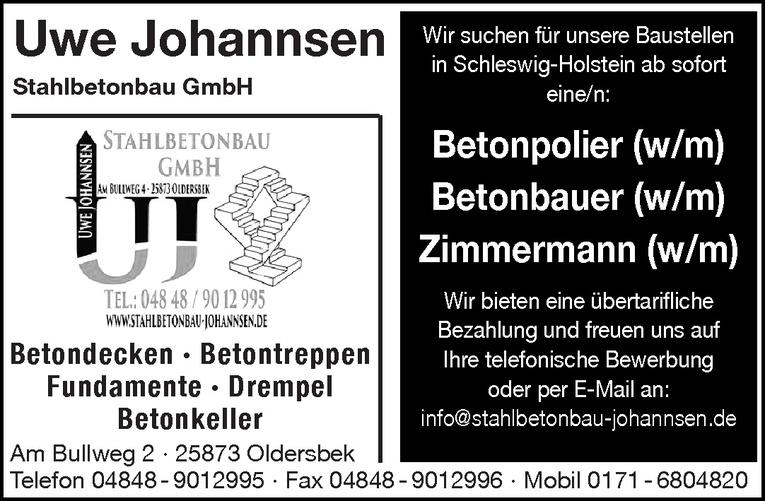 Betonbauer (w/m)