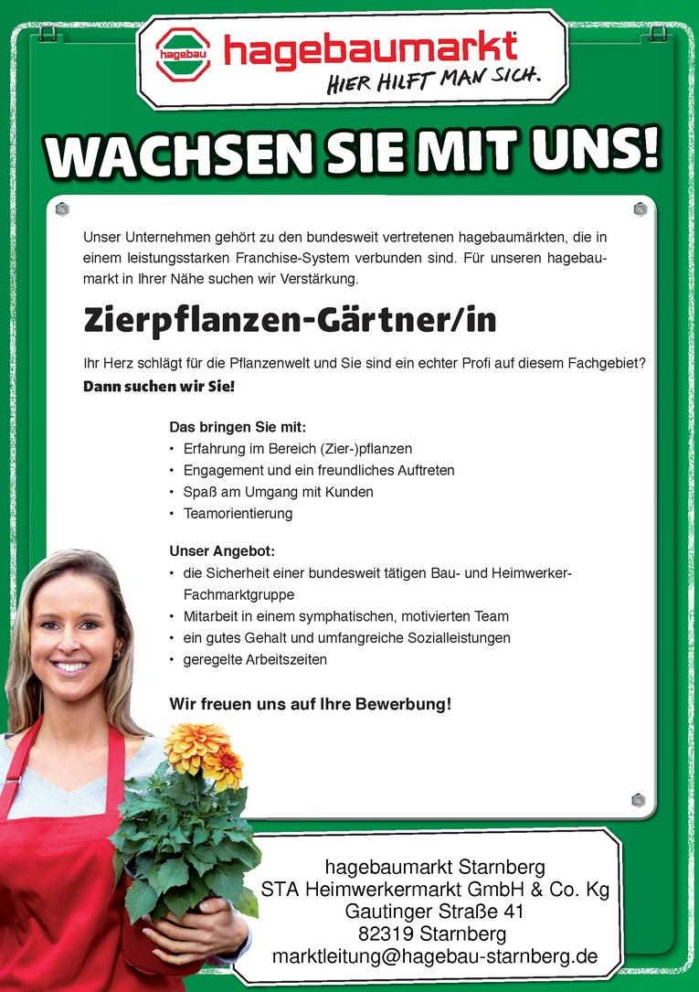 Zierpflanzen-Gärtner/in