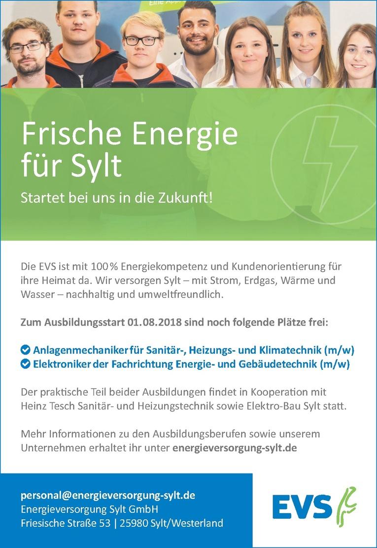 Ausbildung Anlagenmechaniker für Sanitär-, Heizungs- und Klimatechnik (m/w)