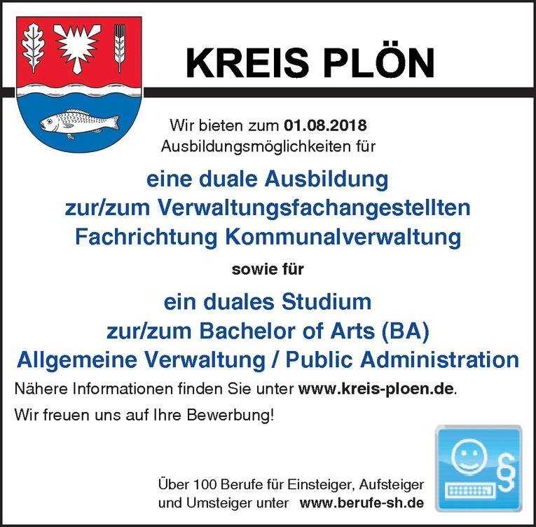 duales Studium zur/zum Bachelor of Arts Allgemeine Verwaltung