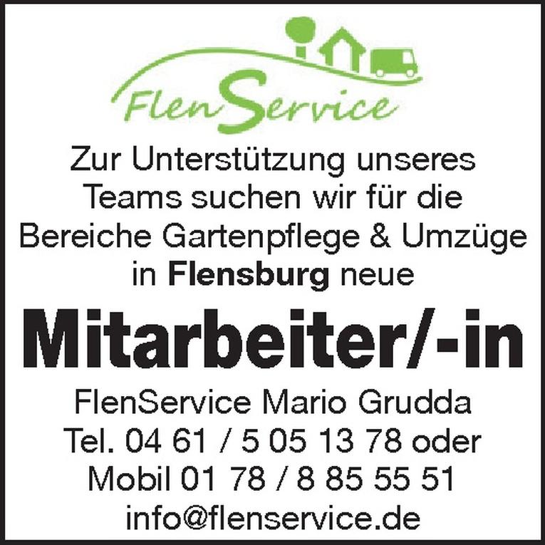 Mitarbeiter/-in Bereiche Gartenpflege & Umzüge