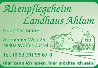 Altenpflegeheim Landhaus Ahlum Hübscher GmbH