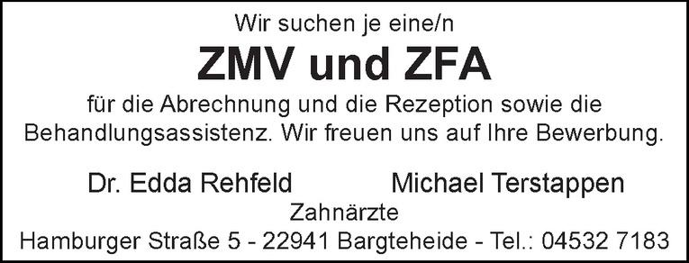 ZMV und ZFA