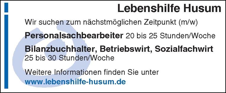 Bilanzbuchhalter / Betriebswirt / Sozialfachwirt (m/w)