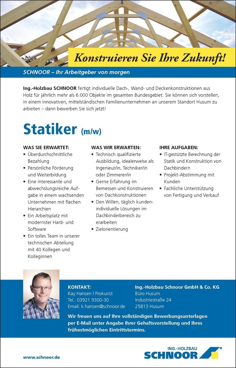 Statiker (m/w)