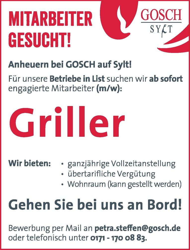 Griller (m/w)