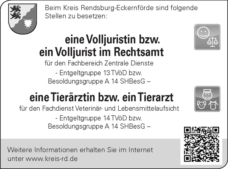 Volljuristin/ Volljurist im Rechtsamt