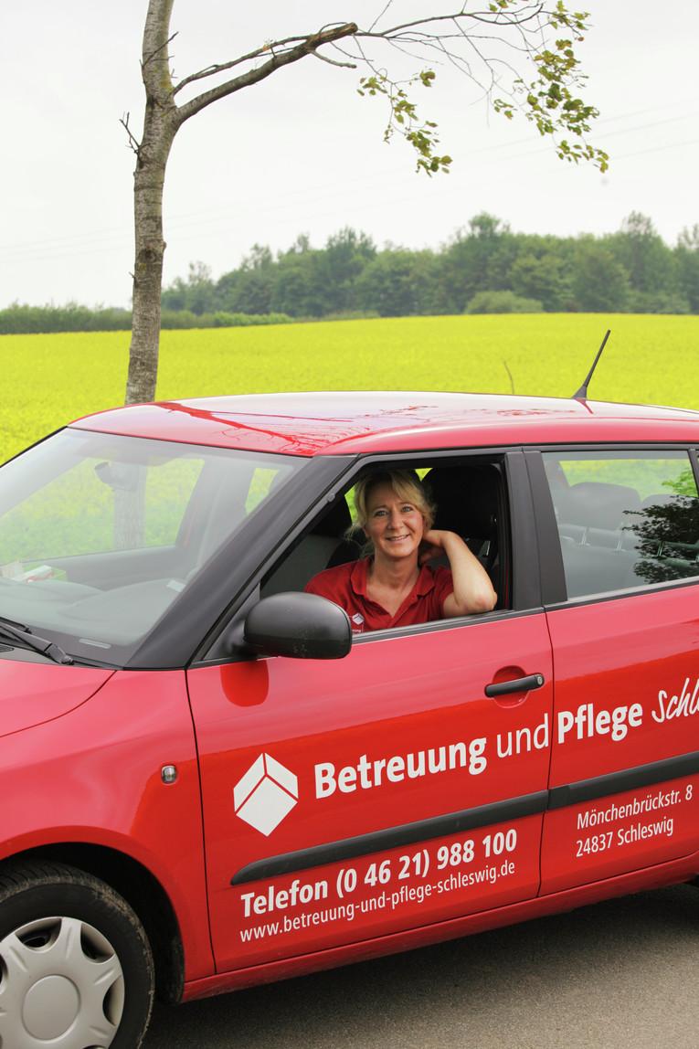 Pflegefachkraft im ambulanten Dienst, Raum Schleswig, Teilzeit oder Minnijob