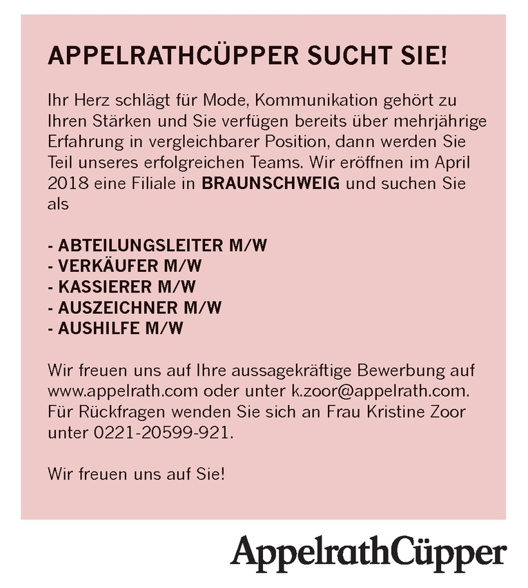 AUSZEICHNER M/W