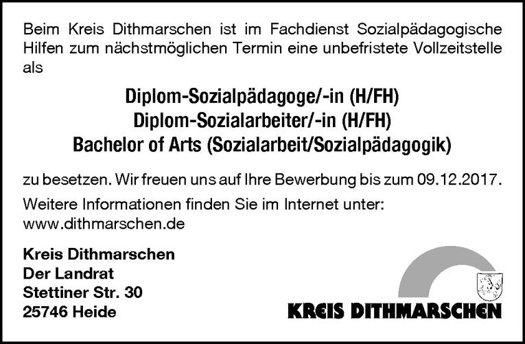 Diplom-Sozialpädagoge/-in (H/FH), Diplom-Sozialarbeiter/-in (H/FH), Bachelor of Arts (Sozialarbeit/Sozialpädagogik)