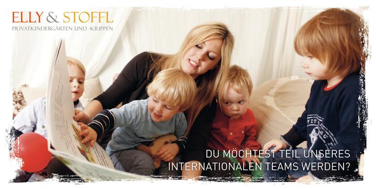 Berufspraktikanten (m/w), Erzieher (m/w) im Anerkennungsjahr für bilinguale Kindertagesstätte