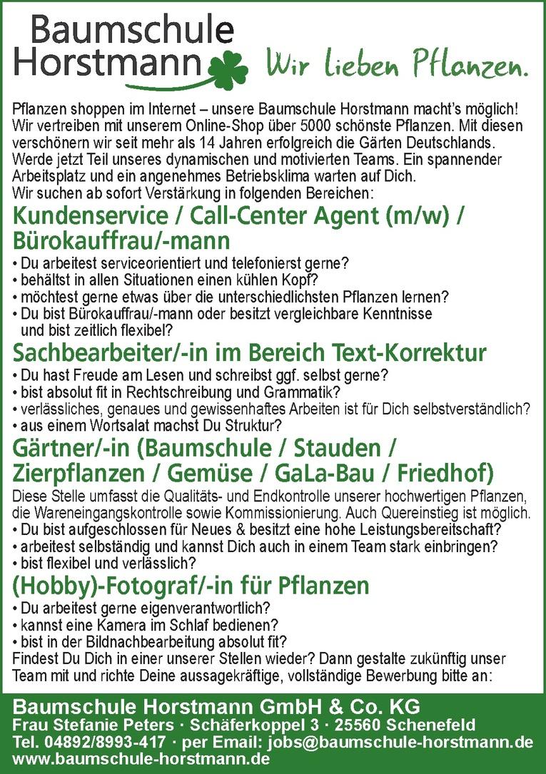 Kundenservice / Call-Center Agent (m/w) / Bürokauffrau/-mann
