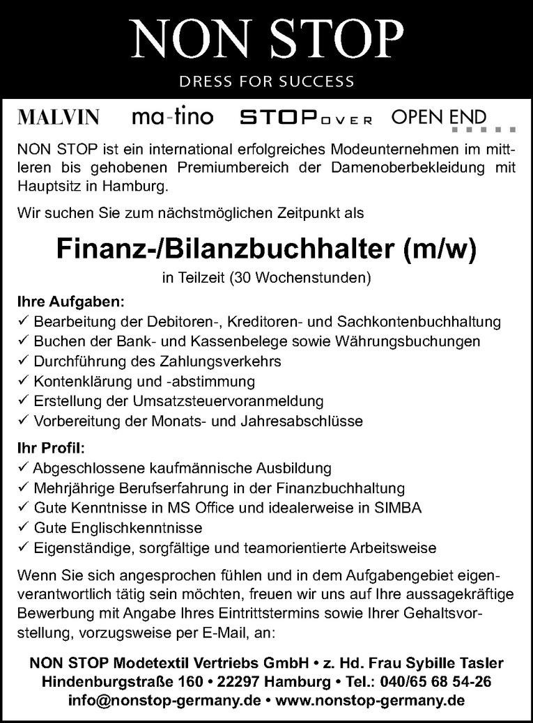Finanz-/Bilanzbuchhalter (m/w)