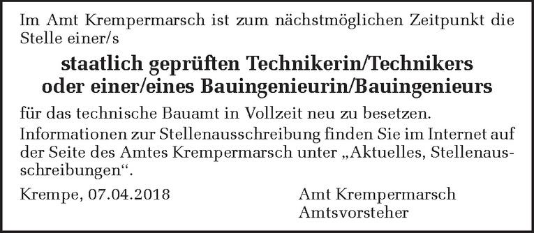 Staatlich geprüften Techniker / Bauingenieur (m/w)