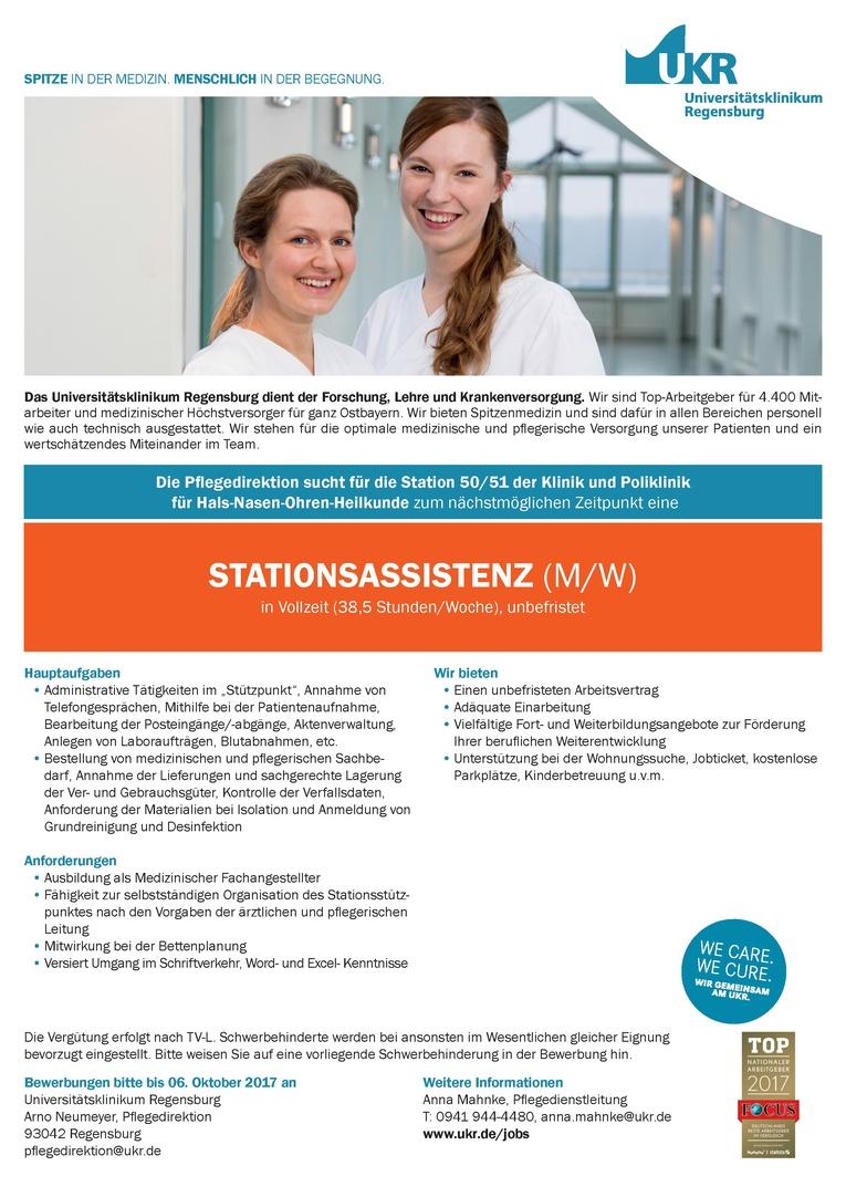 STATIONSASSISTENZ (M/W)