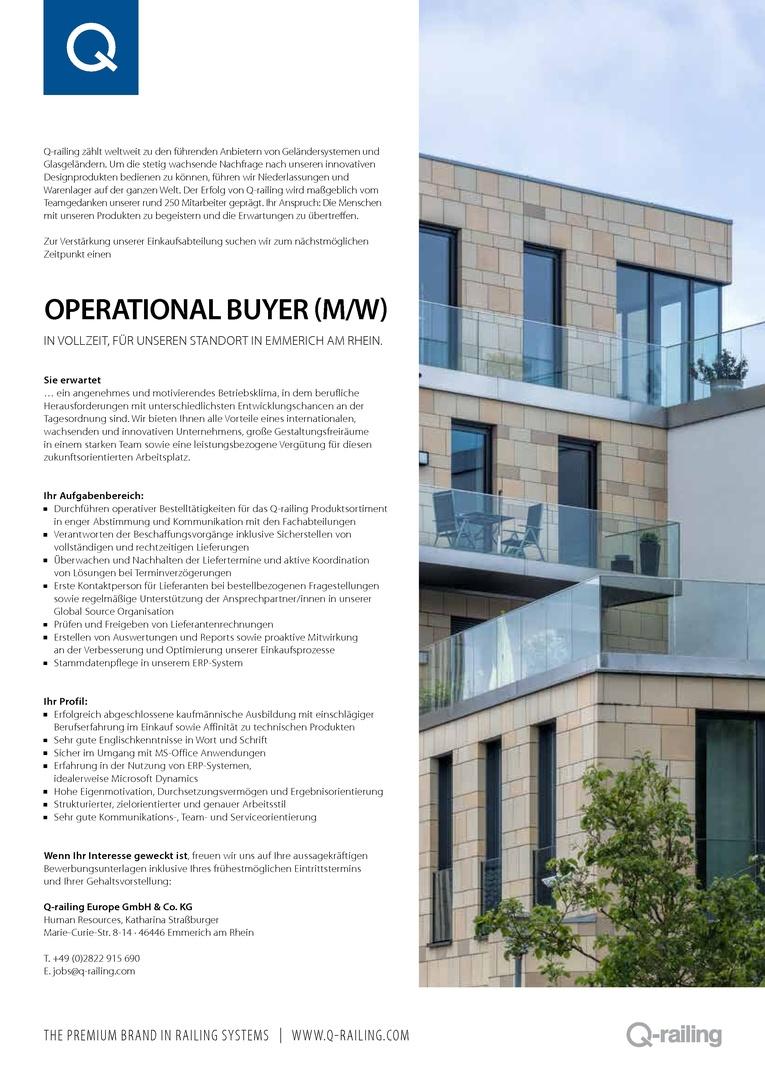 Operational Buyer (m/w)