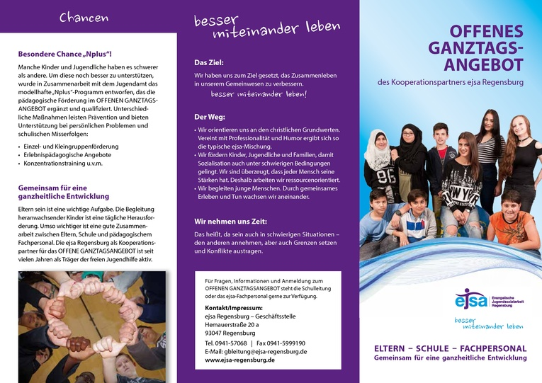 Pädagogische Fachkraft (m/w), 15 Wochenstunden - schulische und sozialpädagogische Förderung Ganztagsschule