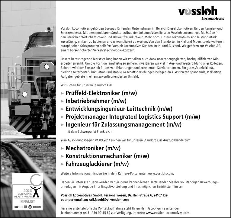 Ausbildung: Konstruktionsmechaniker (m/w)