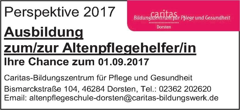 Ausbildung: Altenpflegehelfer (m/w)