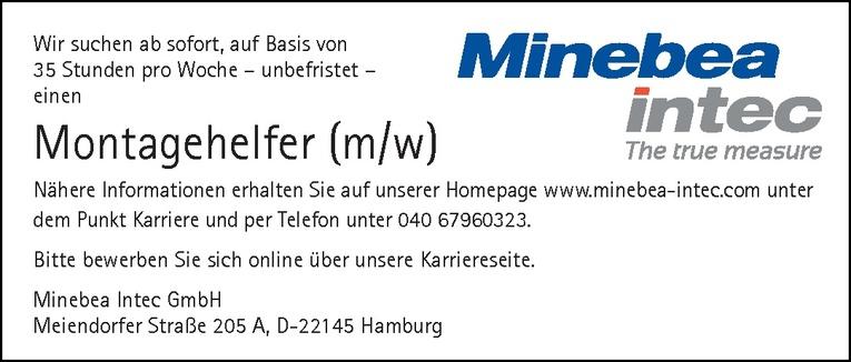 Montagehelfer (m/w)