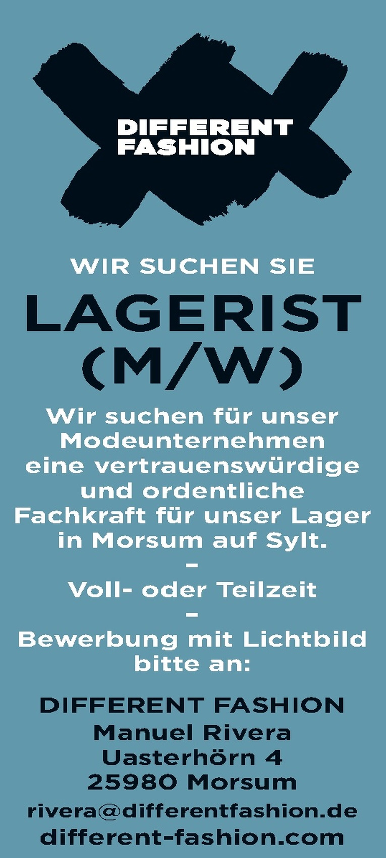 LAGERIST (M/W)