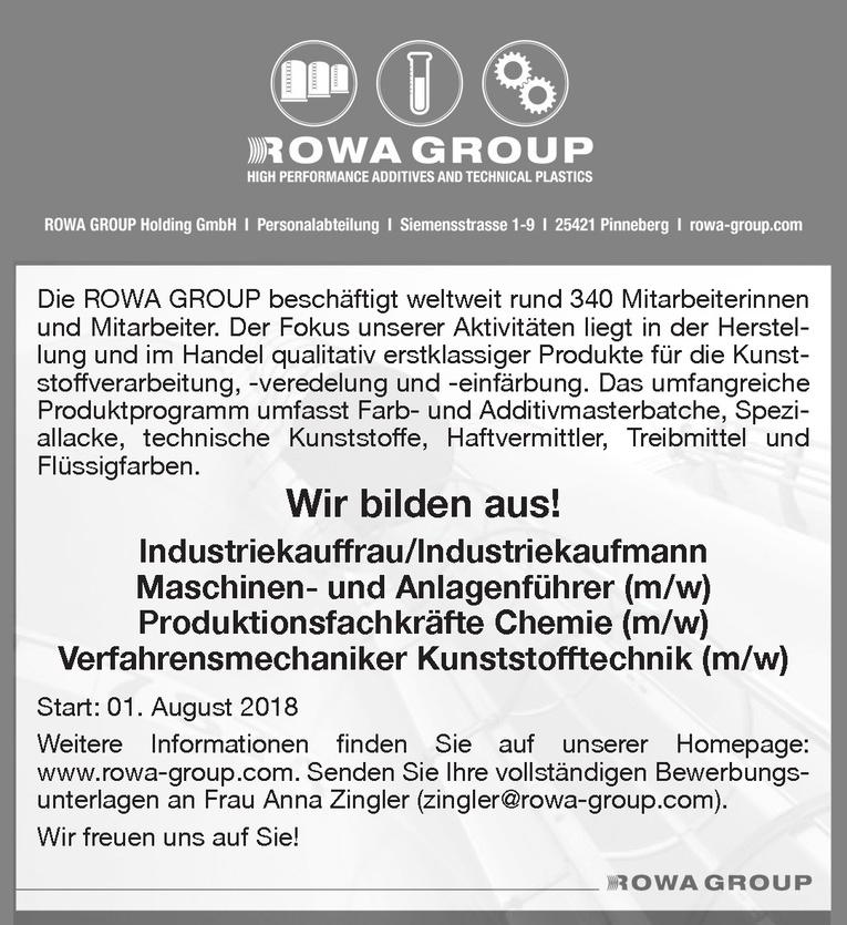 Ausbildung Industriekauffrau/Industriekaufmann