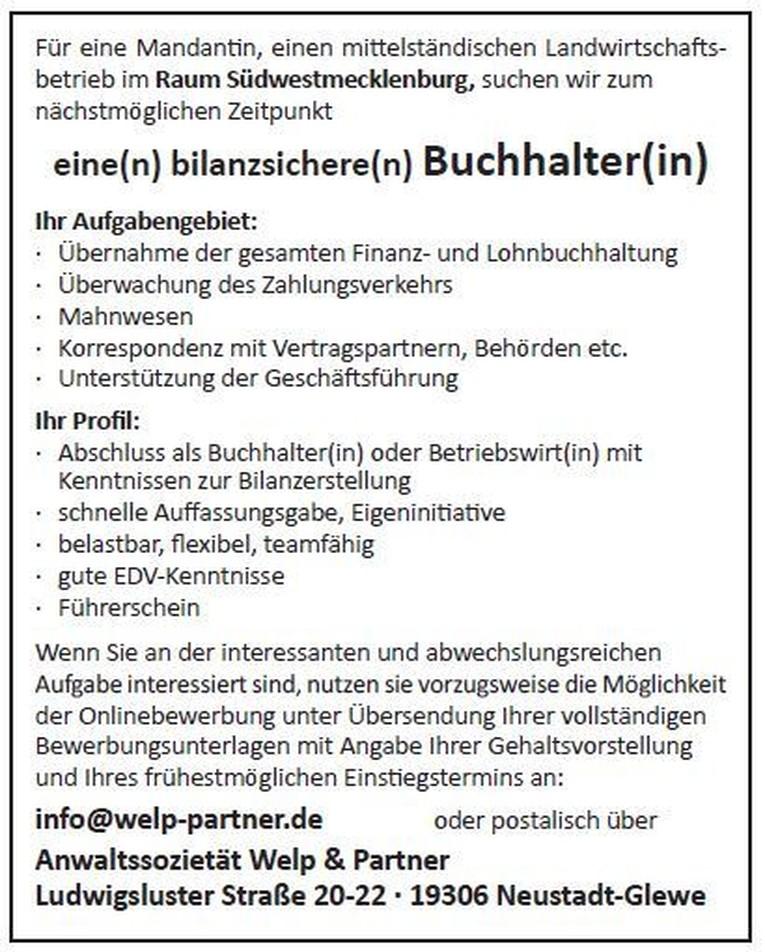 Buchhalter(in)