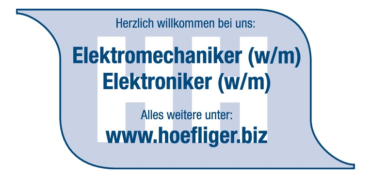 Elektriker (w/m)