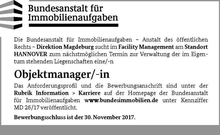 Objektmanager (m/w)