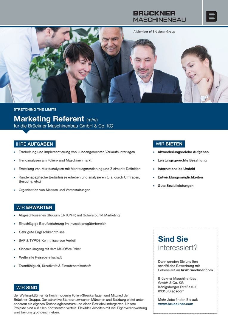 Marketing Referent (m/w)