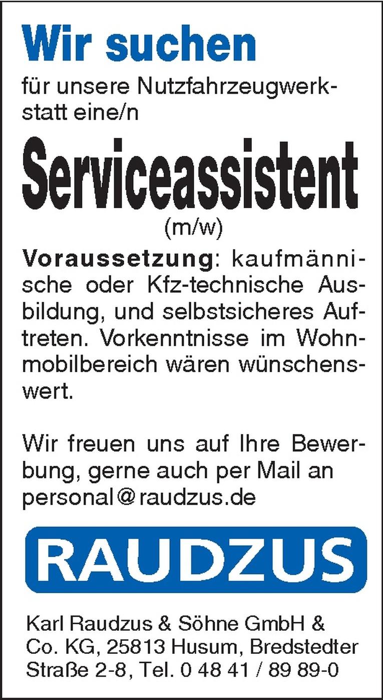 Serviceassistent (m/w)