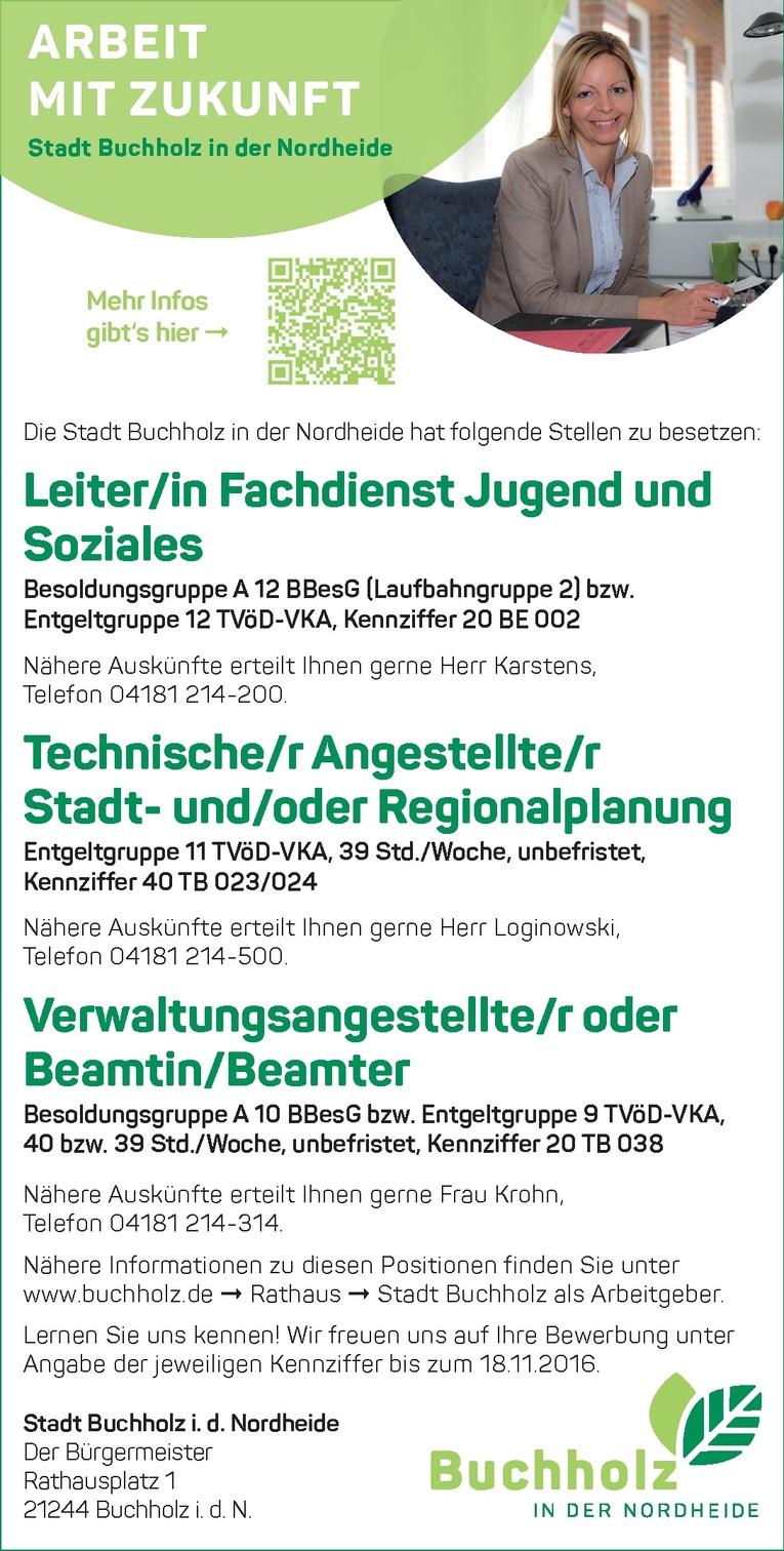 Verwaltungsangestellte/r / Beamtin/Beamter