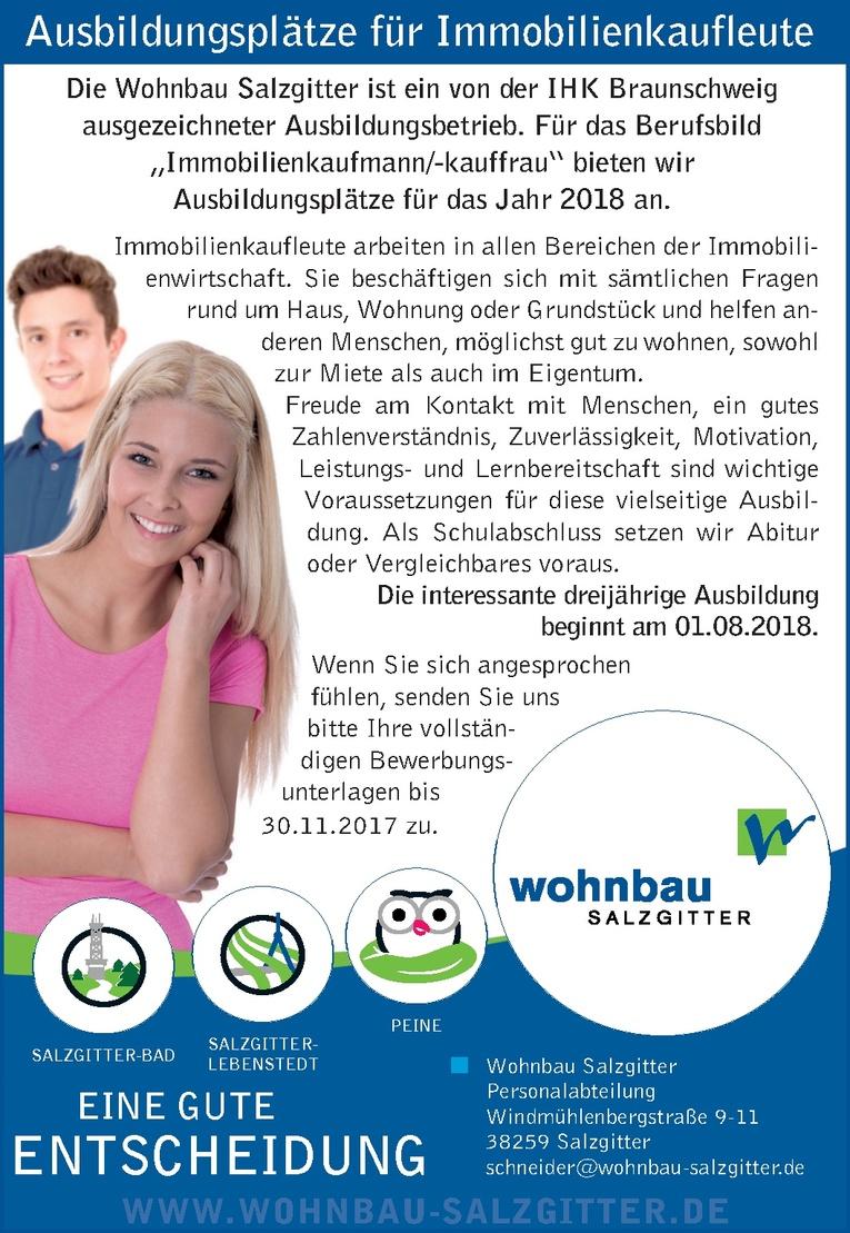 Ausbildung: Immobilienkaufmann/-kauffrau