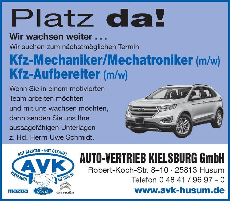 Kfz-Mechaniker/Mechatroniker (m/w)