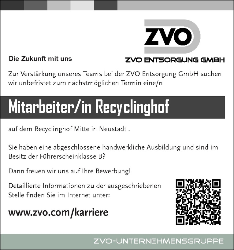 Mitarbeiter/in Recyclinghof