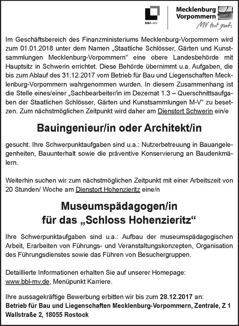 Museumspädagogen/in