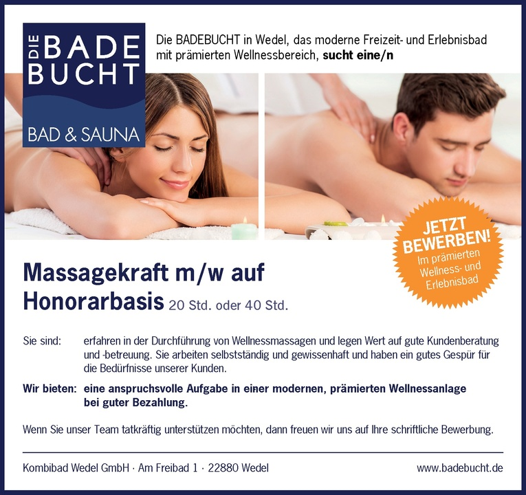 Massagekraft m/w