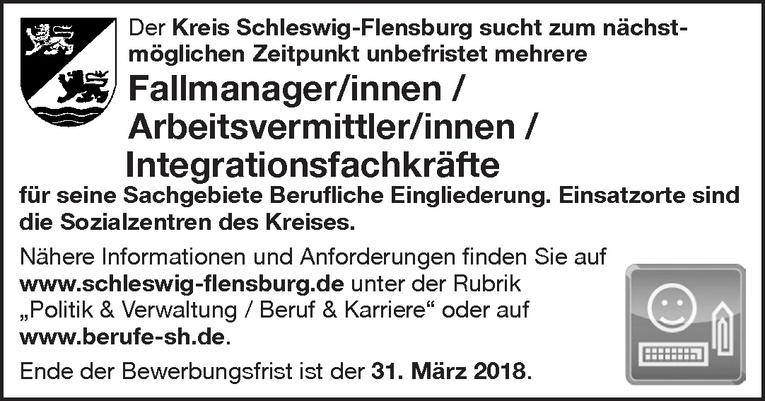 Fallmanager/innen / Arbeitsvermittler/innen / Integrationsfachkräfte