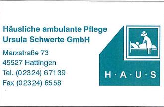 Häusliche ambulante Pflege Ursula Schwerte GmbH