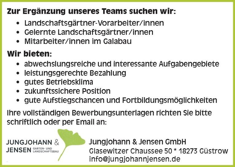 Landschaftsgärtner-Vorarbeiter/innen