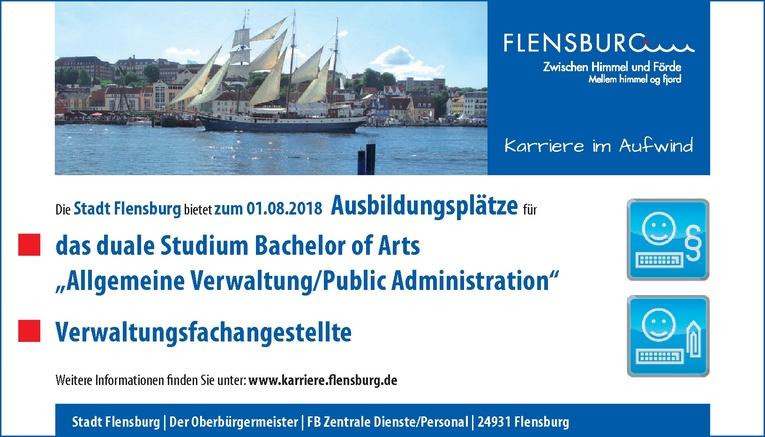 """Ausbildung: Bachelor of Arts """"Allgemeine Verwaltung/Public Administration"""""""