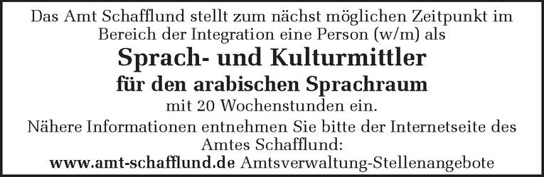 Sprach- und Kulturmittler (w/m)