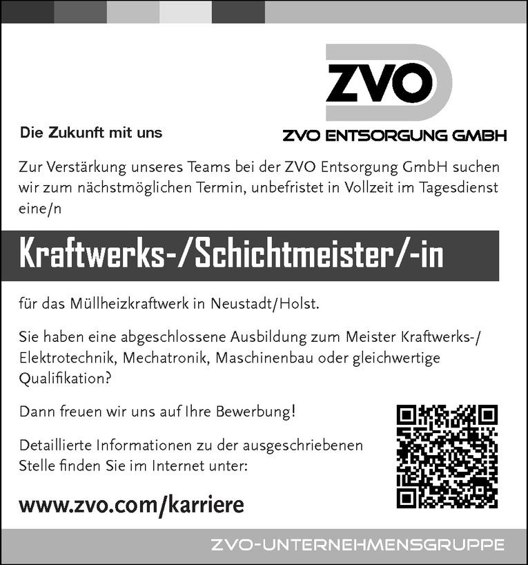 Kraftwerks-/Schichtmeister/-in
