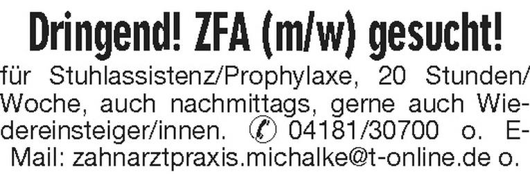 ZFA (m/w)