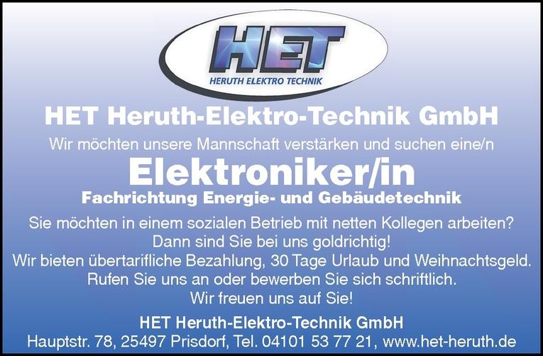 Elektroniker/in