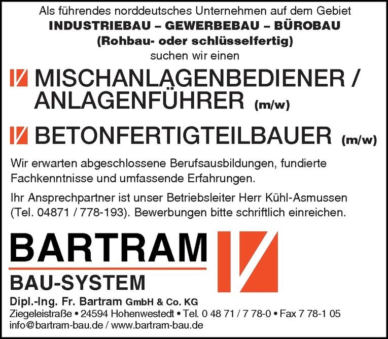 Mischanlagenbediener / Anlagenführer (m/w)