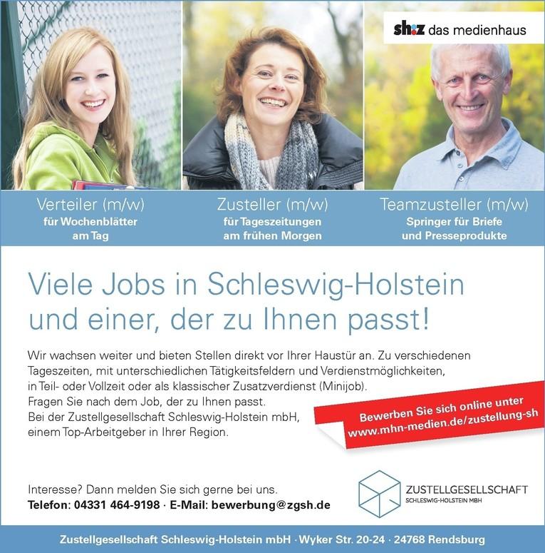 Verteiler/in für die Wochenschau Flensburg